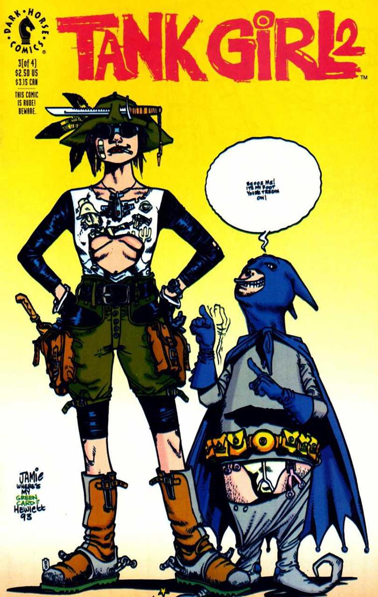 tank girl comic
