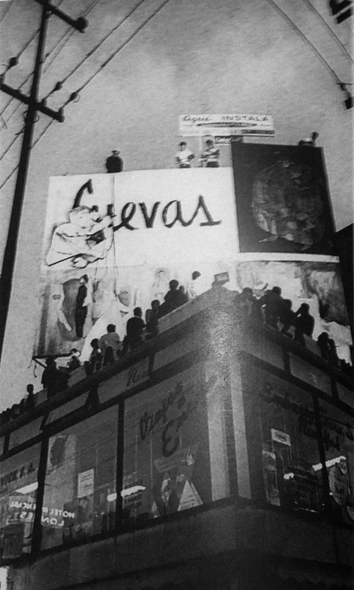 mural efimero de jose luis cuevas