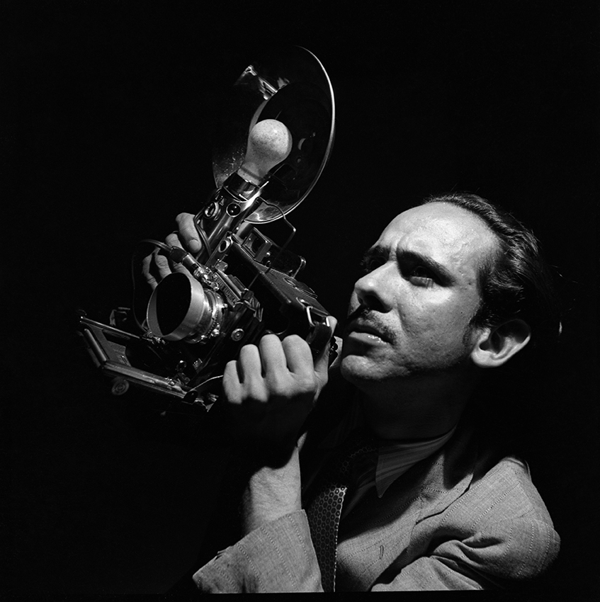 Leo Matiz con cámara