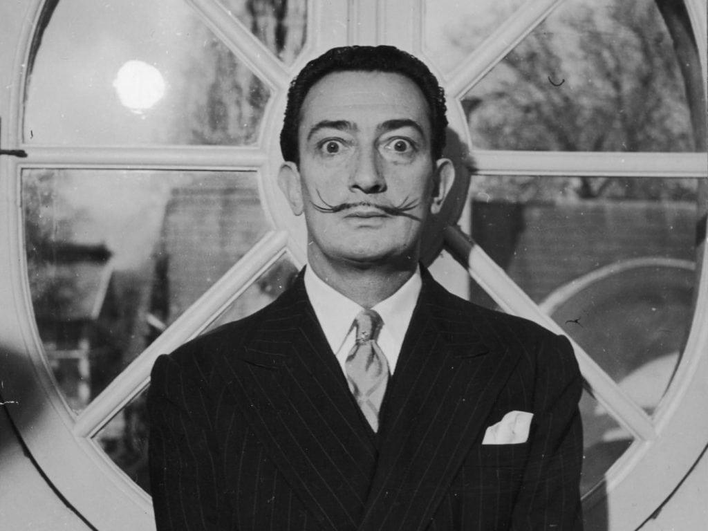 surrealistas, Dalí, técnicas