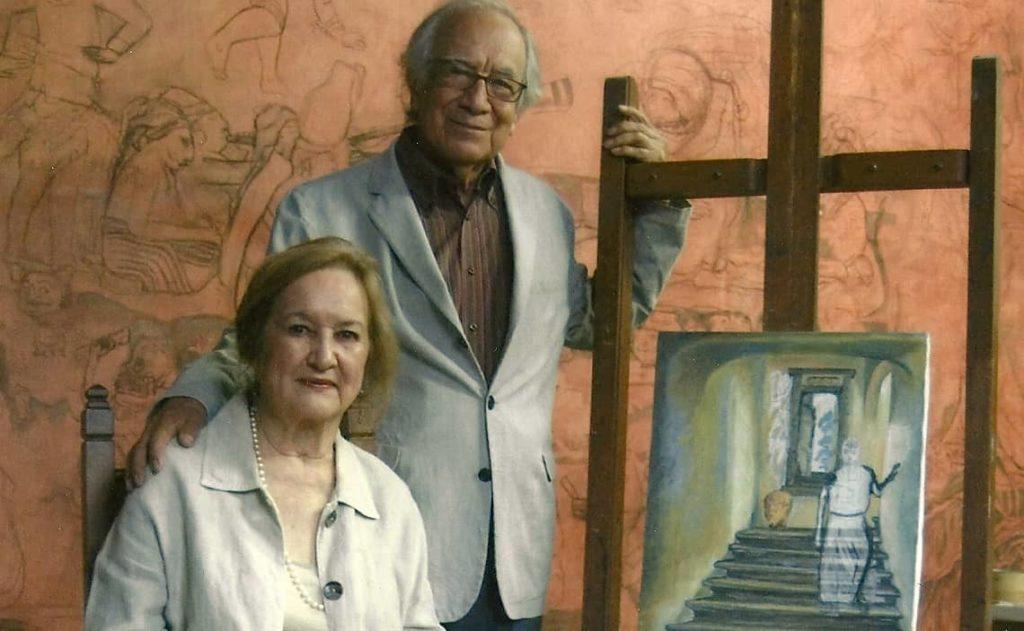 Rina Lazo y Arturo García Bustos, artistas mexicanos, amores