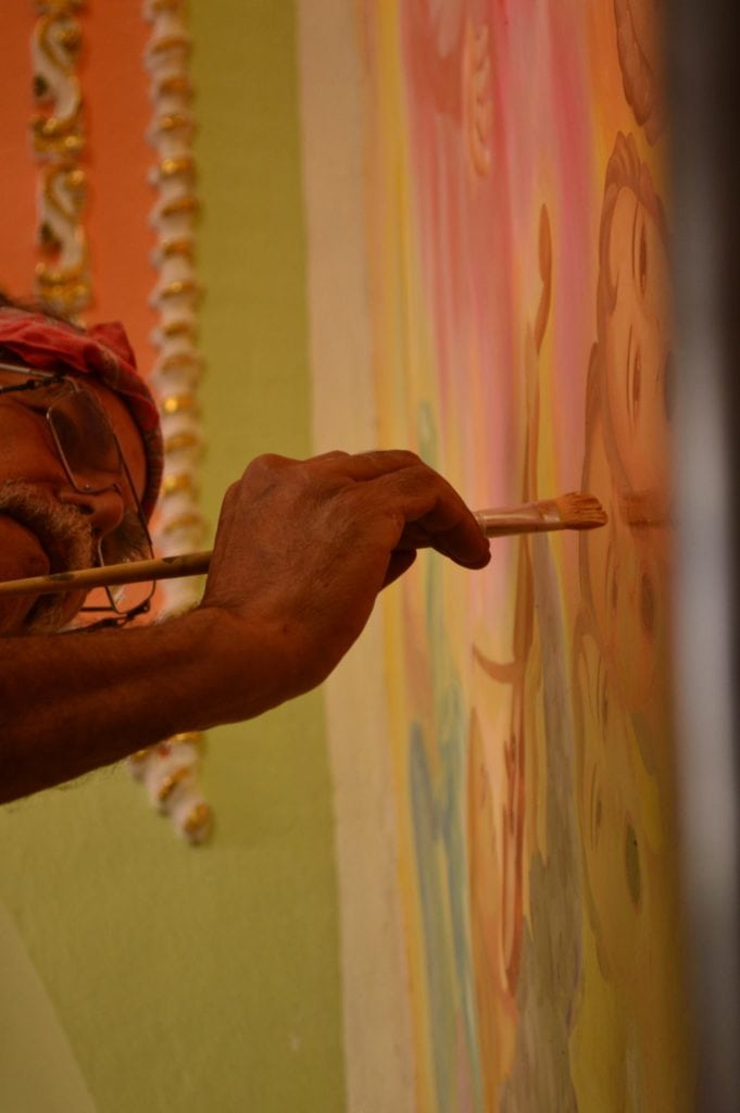Pedro Tenorio, pintor, Oaxaca,