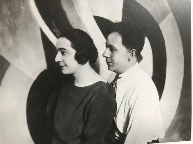 Sonia Delaunay y Robert Delaunay, artistas mexicanos, amores