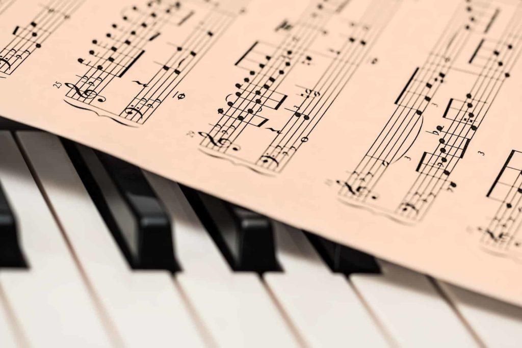 music, piano, música