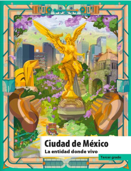 La entidad donde vivo, CDMX, Libros SEP
