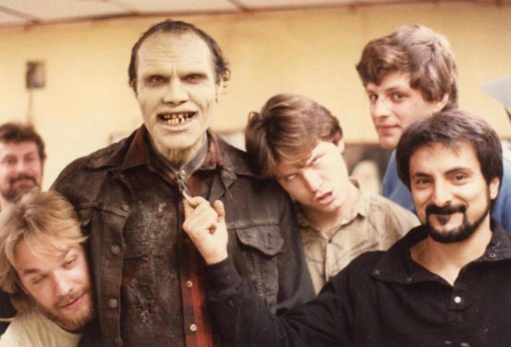 Tom Savini, zombi, make up,