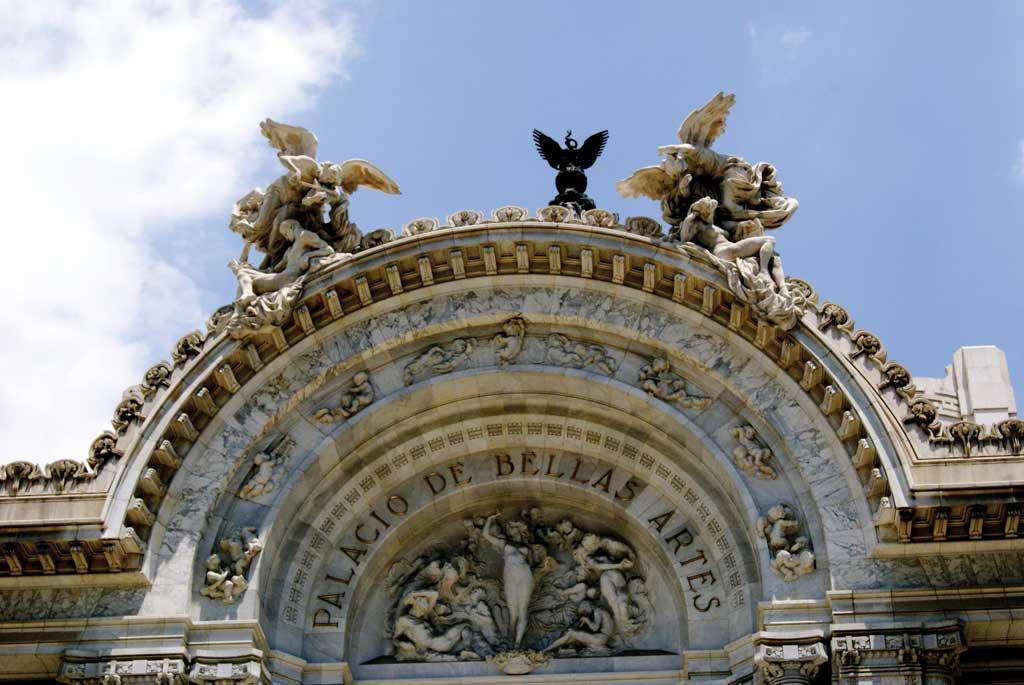 arcos Palacio de Bellas artes