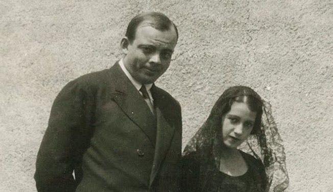 La pareja Saint-Exupéry
