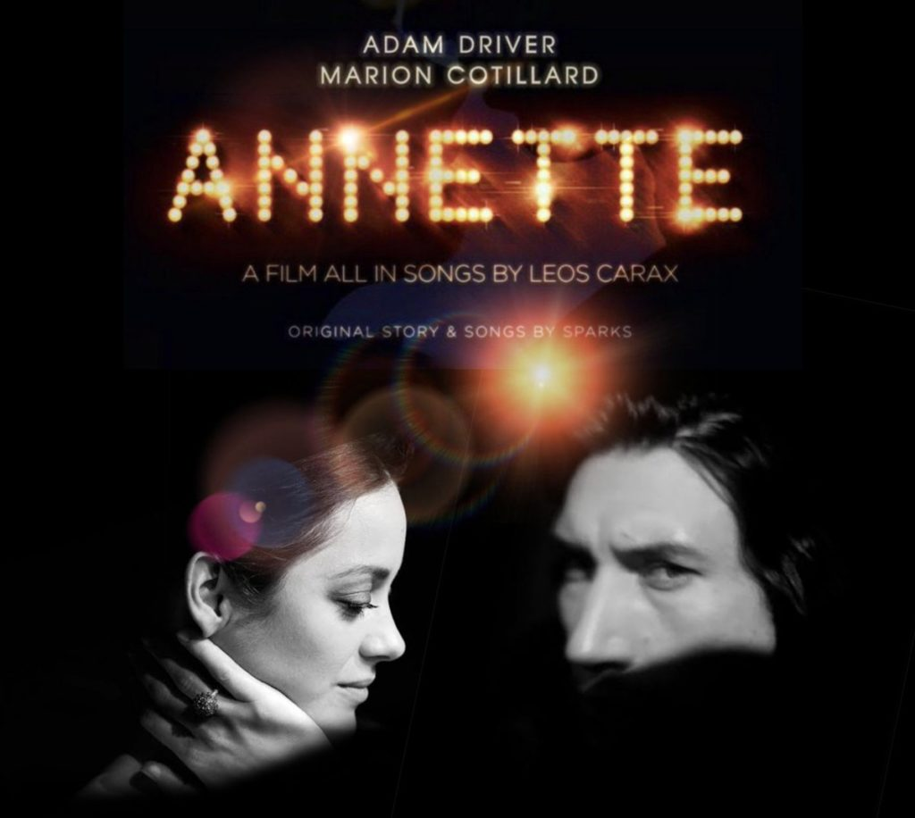 Póster de película Annette por Leos Carax