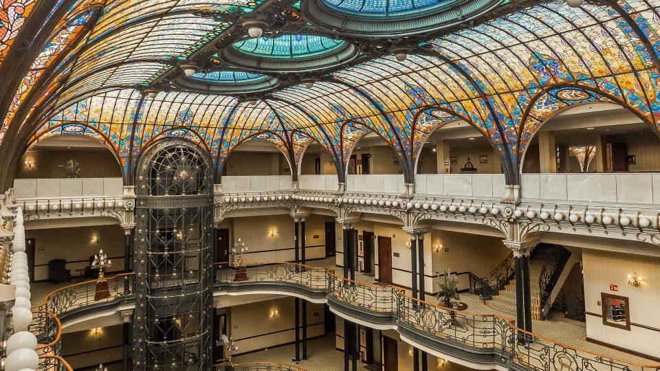 interior gran hotel de la cdmx