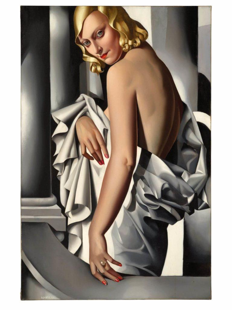 Lempicka art deco ilustración
