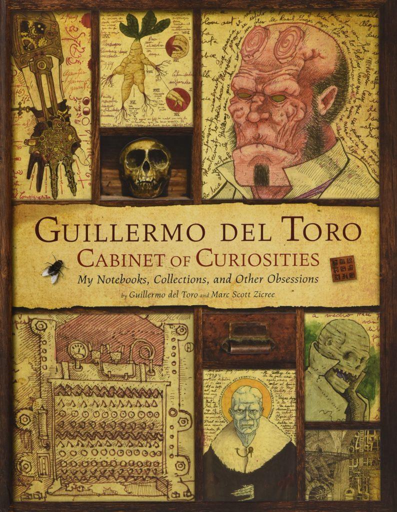 Libro Gabinete de Curiosidades de Guillermo del Toro