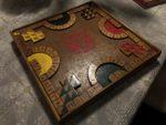 Tablero juego de mesa Poleana