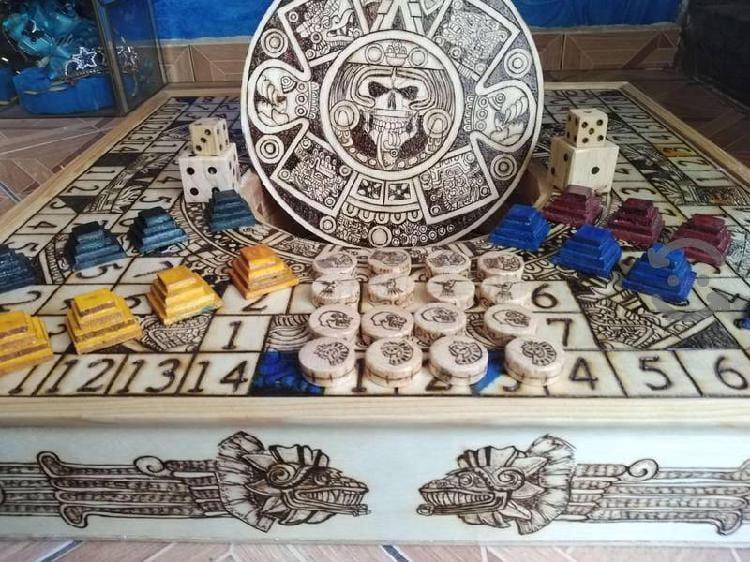 Tablero artesanal de Poleana