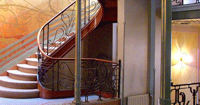 arquitectura art nouveau Víctor Horta