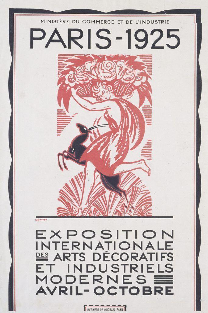 Cartel expo arts decoraties 1925