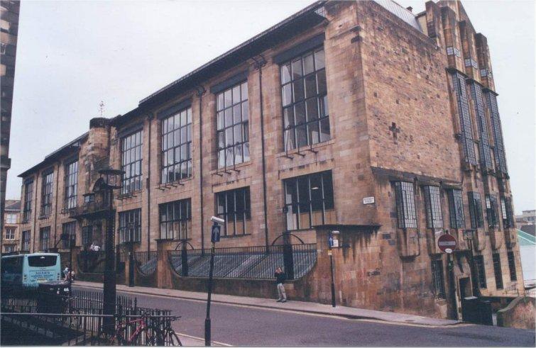 arquitectura art nouveau Mackintosh