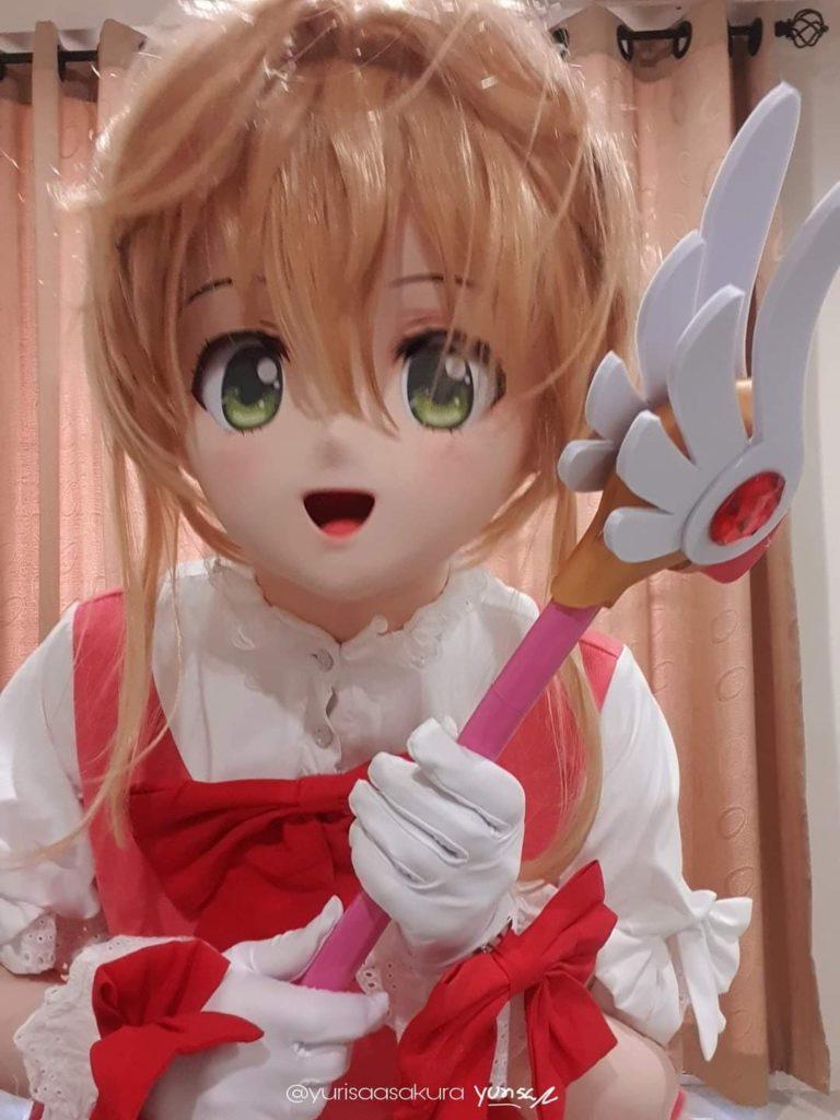 cosplay kigurumi animegao Sakur Card Captor