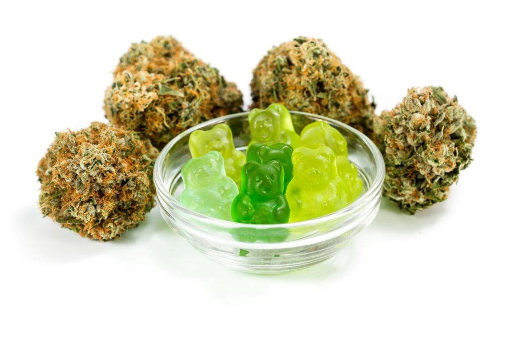 dulces de cannabis
