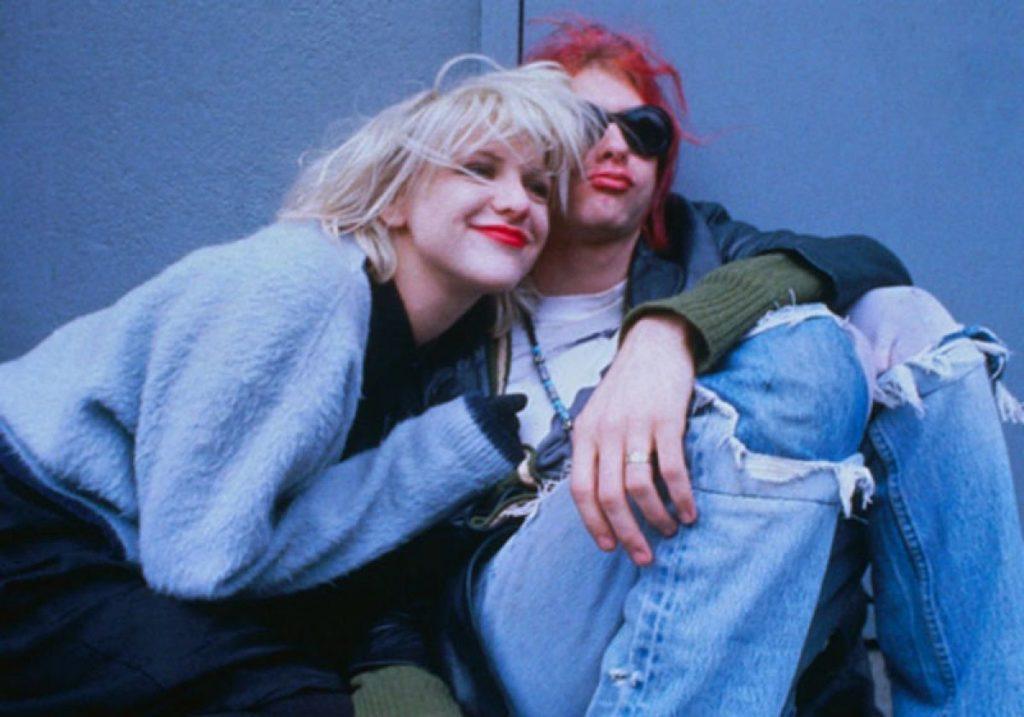 Courtney y Kurt