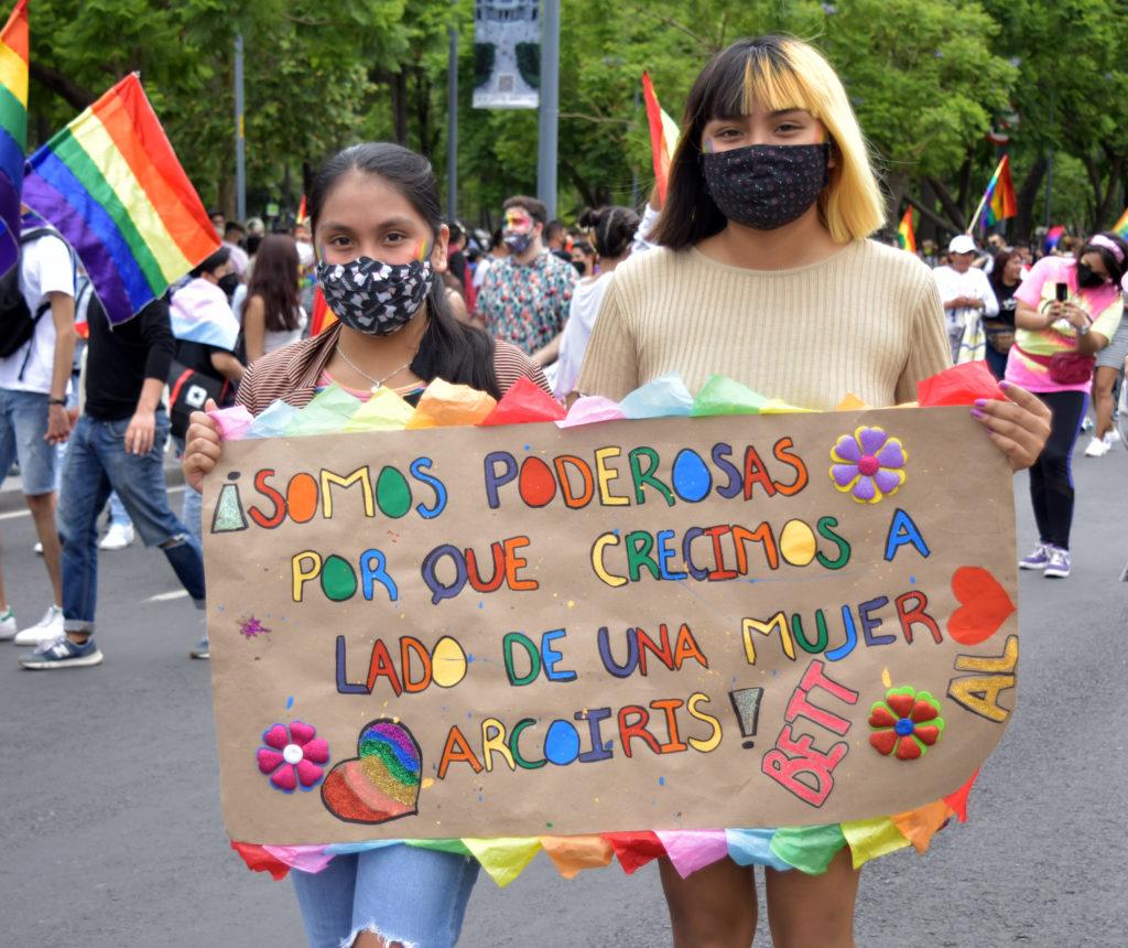 MENSAJE APOYO LGBTTTIQ+