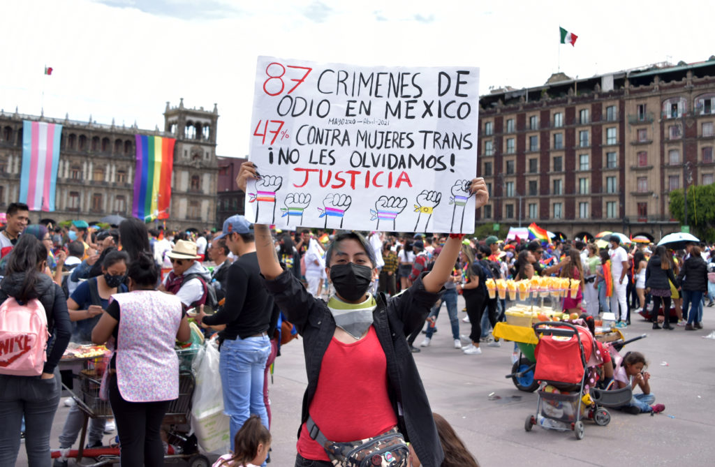 CRÍMENES DE ODIO HACÍA COMUNIDAD LGBTTTIQ+