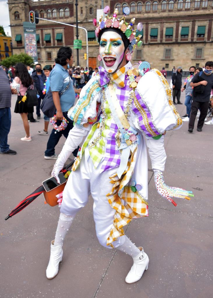 DRAG KING EN MARCHA LGBTTTIQ+ 2021