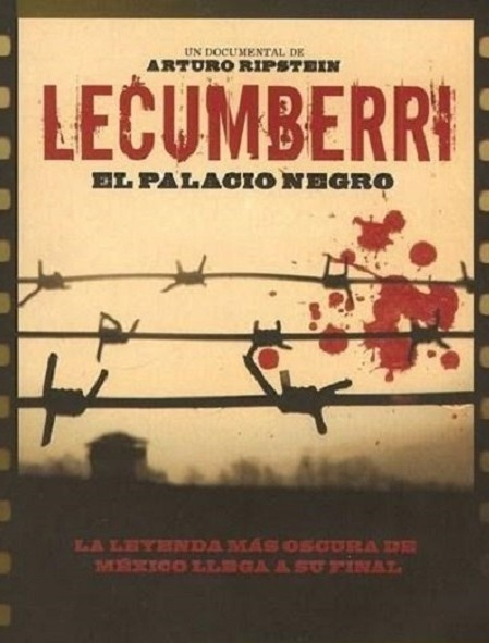 Poster Lecumberri Palacio negro FilminLatino