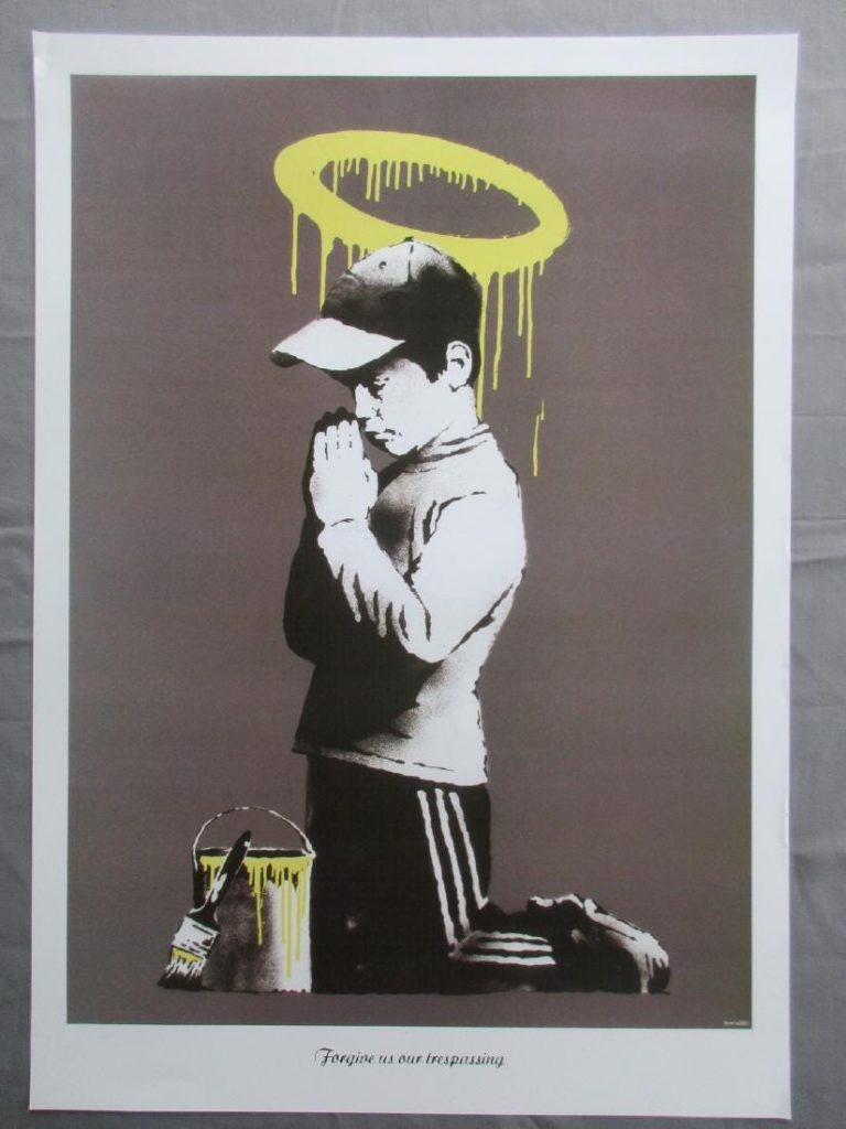 Forgive us our Trespassing. Obras subastadas de Banksy