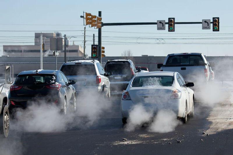 contaminación ambiental vehicular