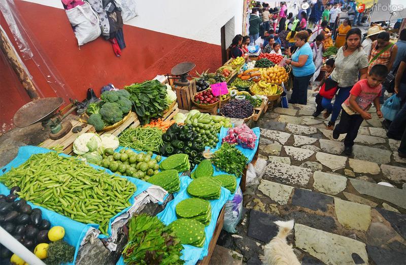 tianguis de Cuetzalan, Puebla