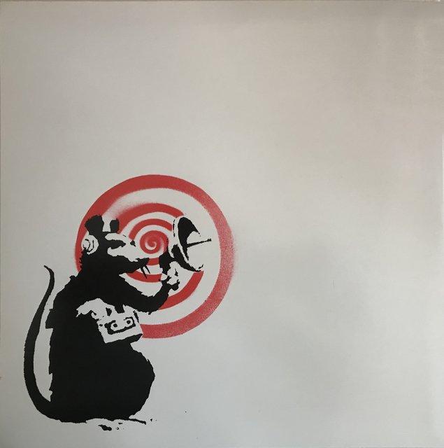 Banksy perdió derechos sobre Radar Rat