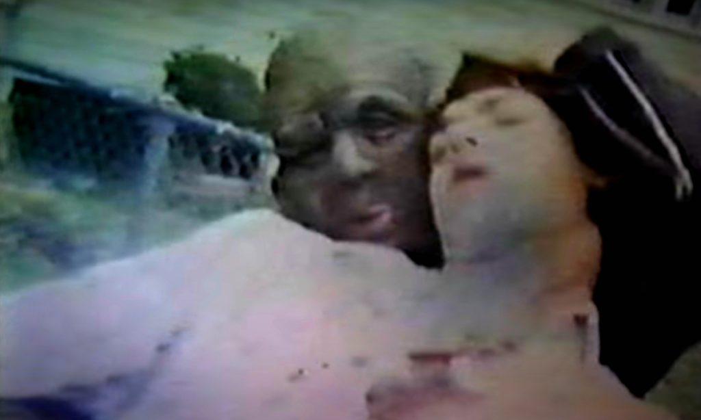 Escena de corto de horror de Kurt Cobain