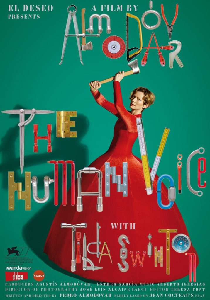 Poster La Voz Humana