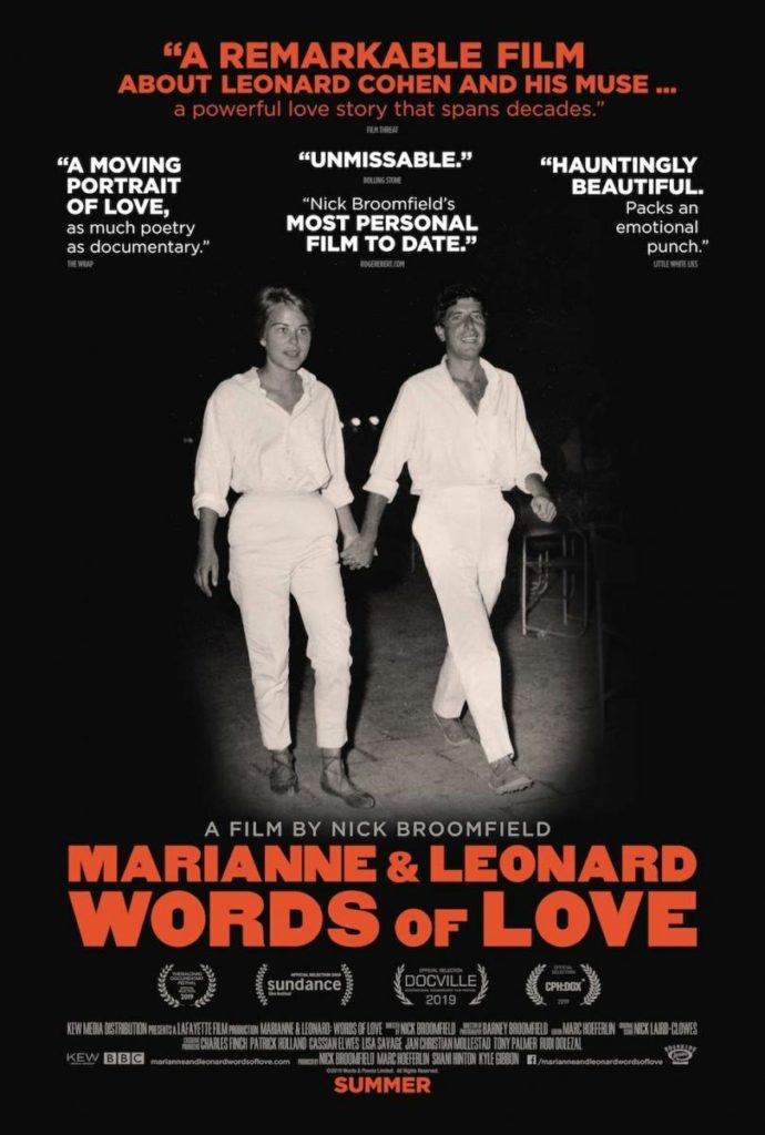 Poster de Marianne & Leonard: Words of Love
