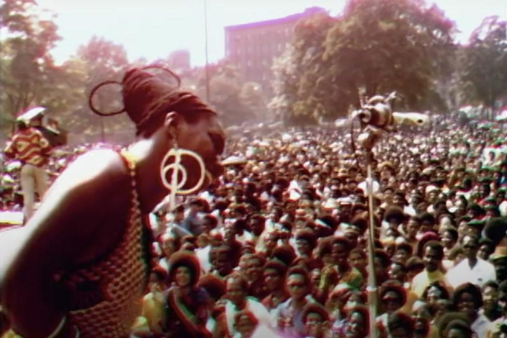 Gran cantidad de público se dio cita en el Harlem Cultural Festival