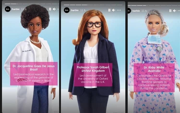Barbie homenajea mujeres que luchan vs coronavirus