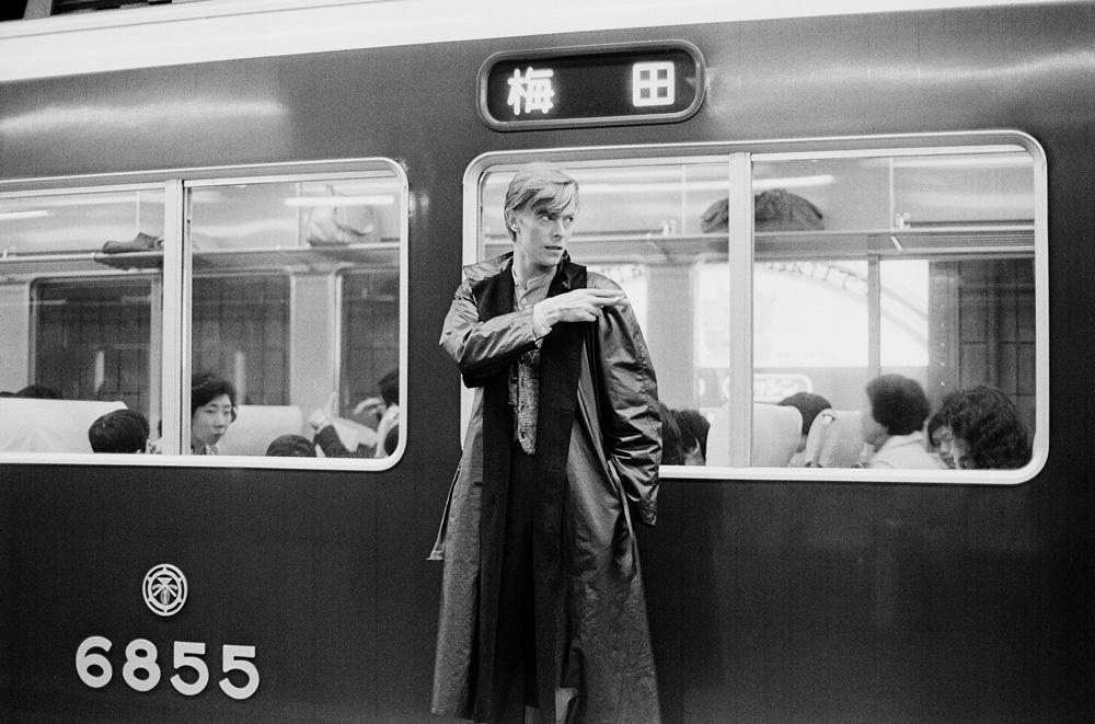 Bowie fotografiado por Sukita