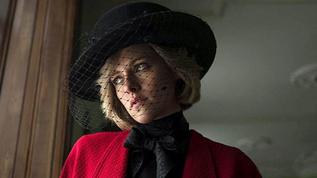 Kristen Stewart como Lady Di en película Spencer