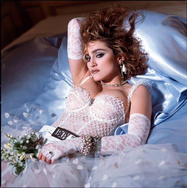 Madonna portada disco like a virgin