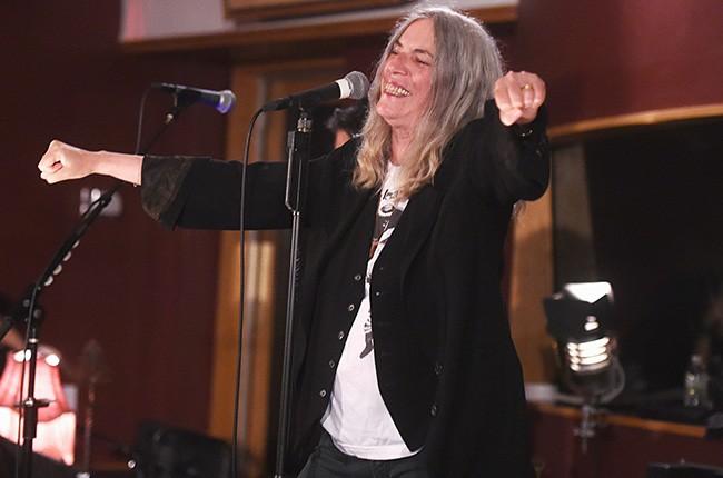 Patti Smith en los Electric Lady, 2015