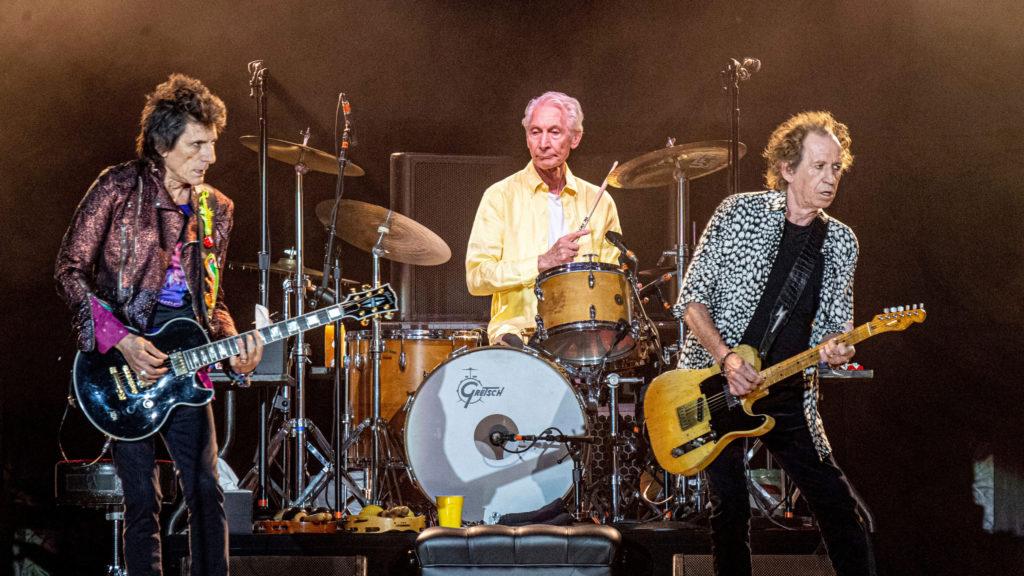 Charlie Watts en los Rolling Stones