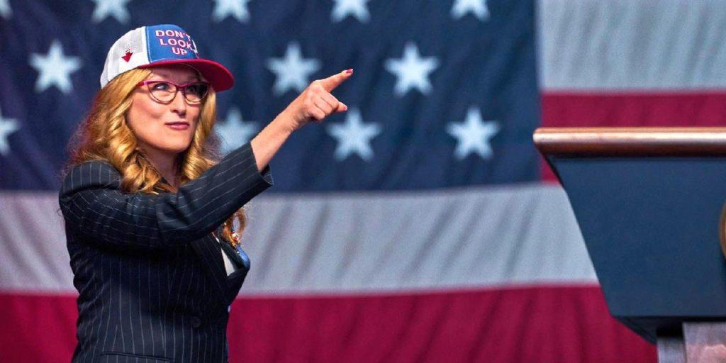 Meryl Streep será presidenta en Don't Look Up