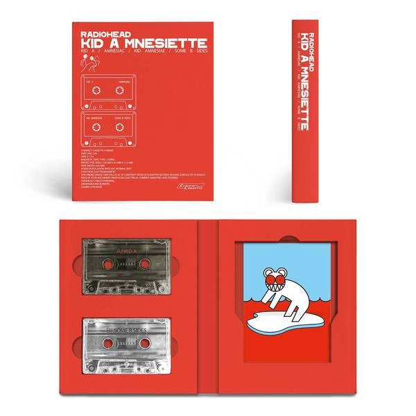 Cassette de lujo del Kid A Mnesia